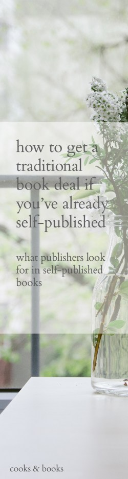 How to go from self published to traditional publishing (long)