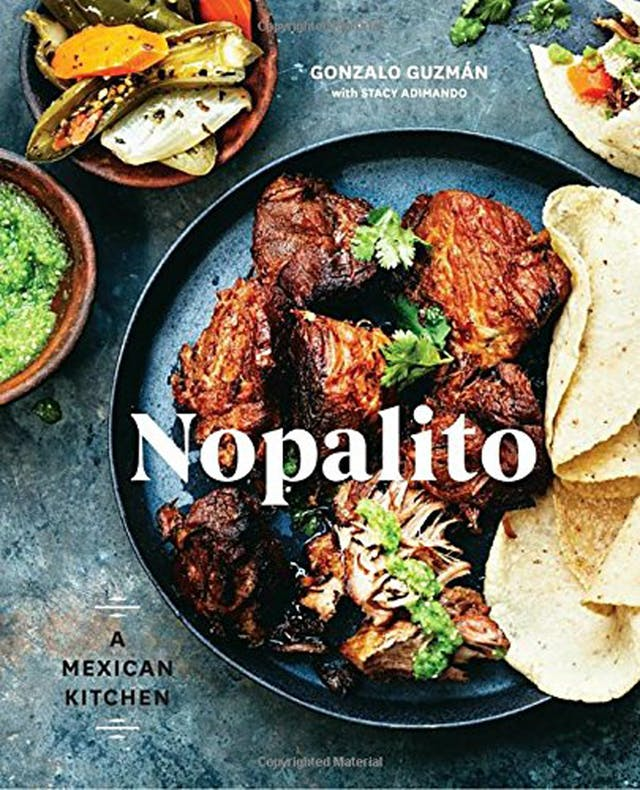 Nopalito mexican cookbook review