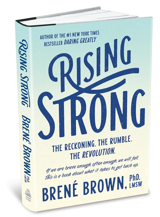 Rising Strong Brene Brown book