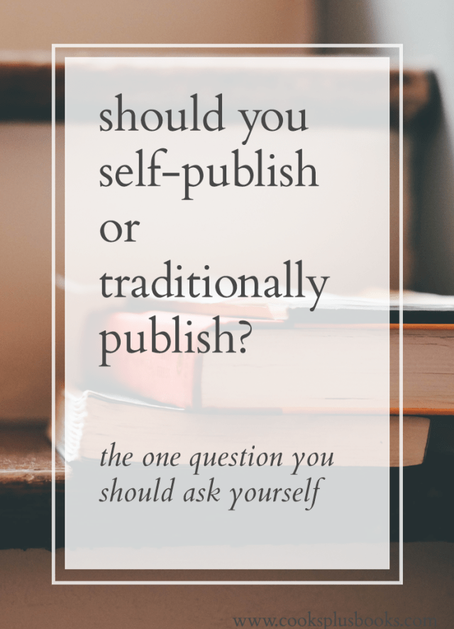 self publishing vs traditional publishing