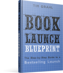 Tim Grahl Book Launch Blueprint book cover
