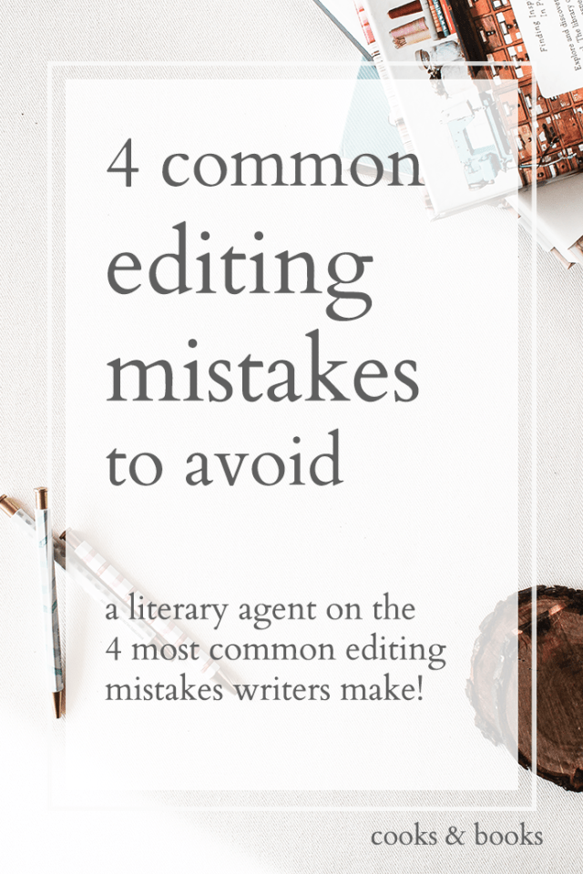 common editing mistakes