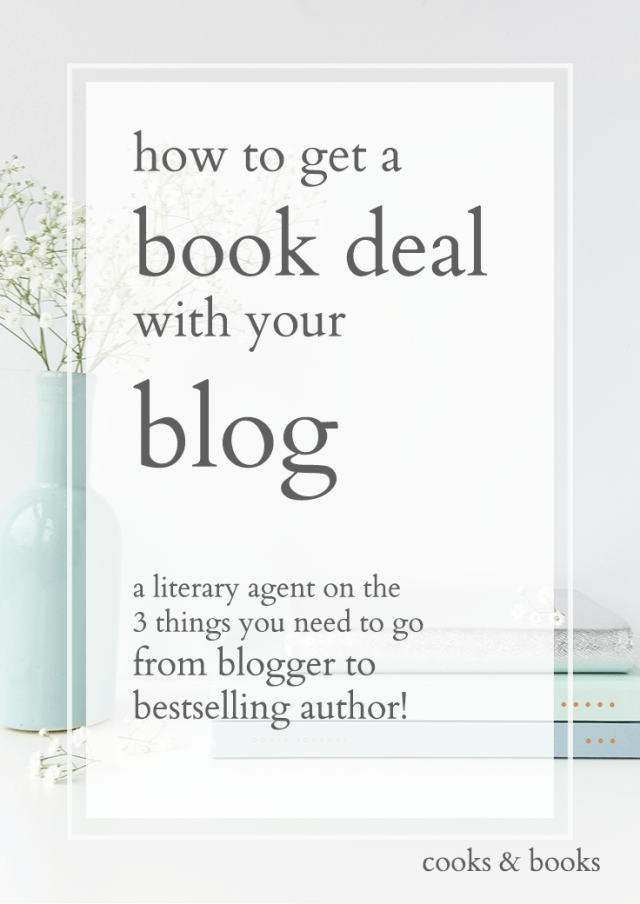 from blog to book deal