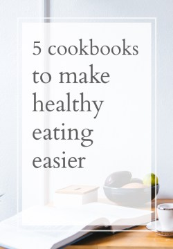 cookbooks to help with healthy eating