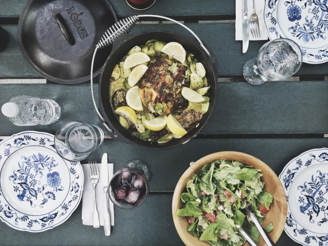 nik sharma cookbook a brown table