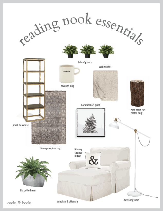 reading nook mistakes printable