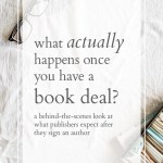 Stage Three of Publishing a Book: Hooray–You Have a Book Deal! And How to Write a Book the Sane Way