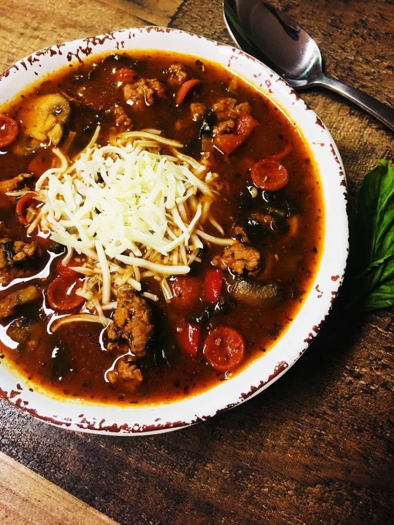 Pizza Soup - Cooks Well With Others