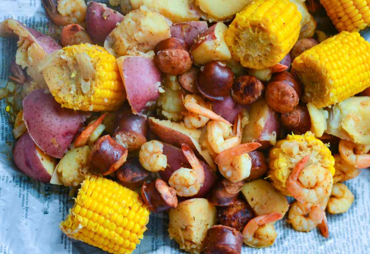 Mealthy: Low Country Shrimp Boil