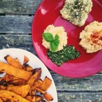 3 simple, healthy, and delicious hummus (3 receitas fáceis, deliciosas e saudáveis de hummus)