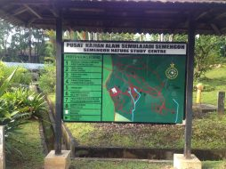 map Semenggoh Nature Reserve