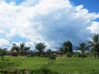 Angola village up-country