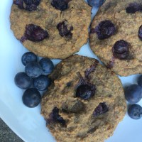 Easy & Healthy Blueberry Oat Cookies (bolachas saudáveis de aveia e mirtilos)