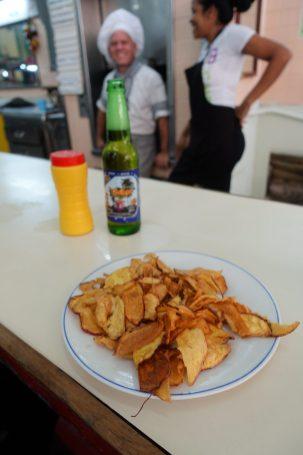 Yuca frita cassava Cuba