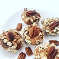 Banana Muffins with nuts (Queques de Banana e frutos secos)