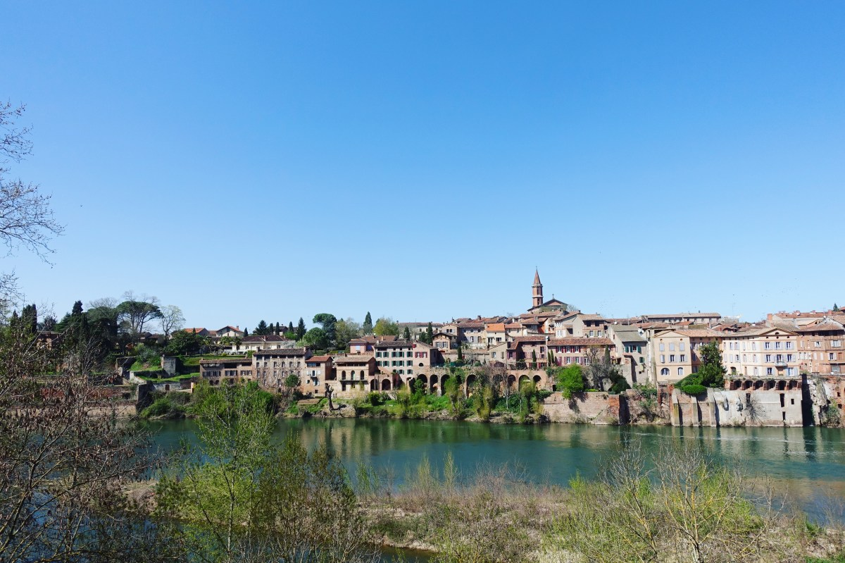 Albi a beautiful town in southern France