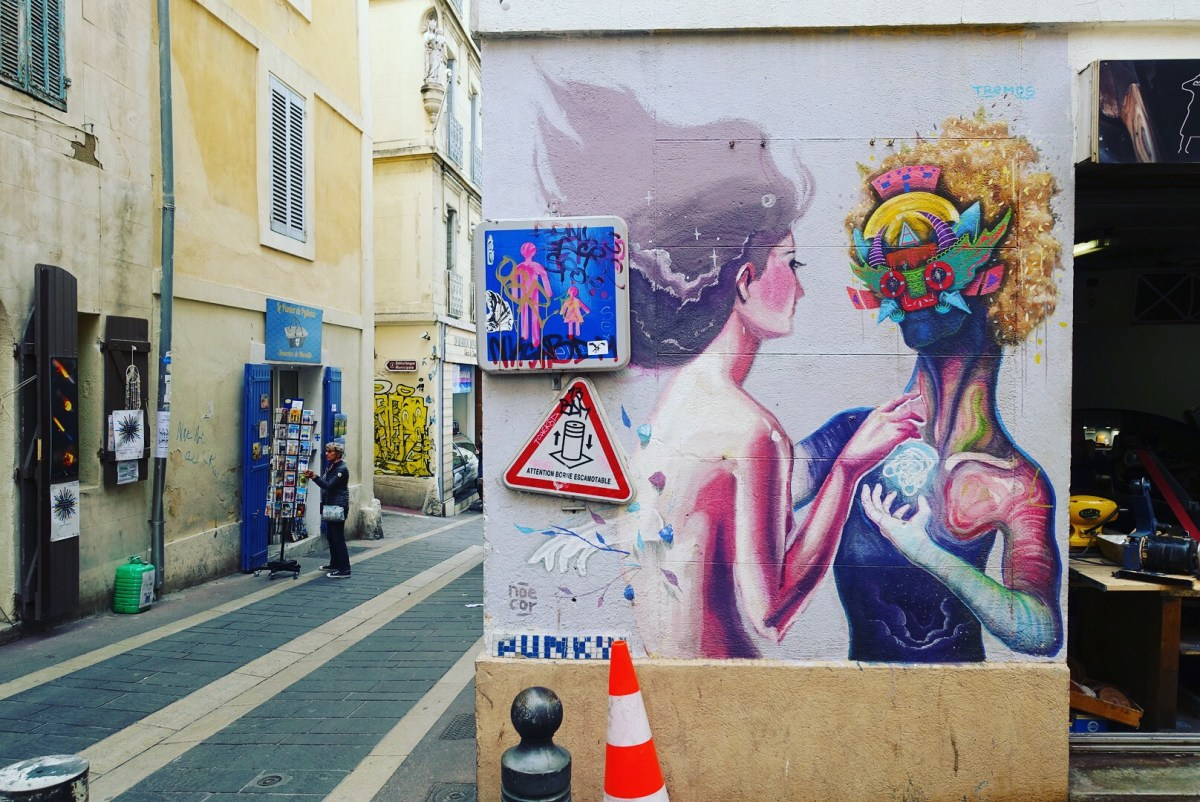 Street art in Marseille