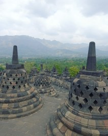 Borobudur top floor