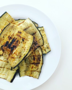 easy grilled aubergine recipe