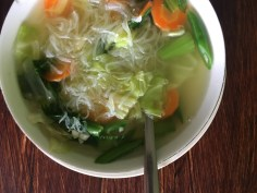 vegan soup indonesia