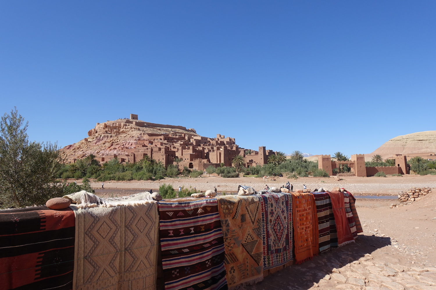 Aït Benhaddou exploring the fortified village in Morocco