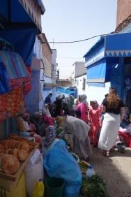 Chefchaouen produce Market