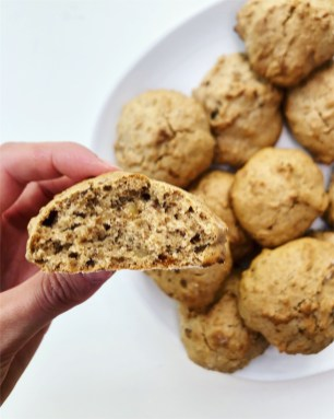 Recipe vegan Walnut and Raisins scones