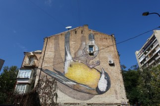 Freedom Kyiv mural