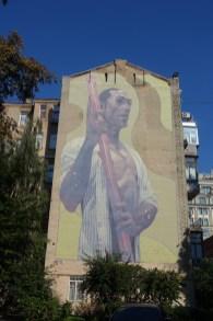 Velyka Zhytomyrska Kiev mural