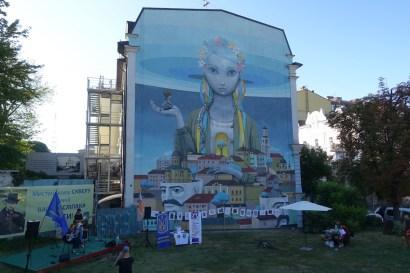 rebirth Kiev street art
