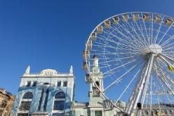Ferris wheel Kontraktova Square Kiev