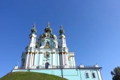 St Andrew's Church Kyiv travel