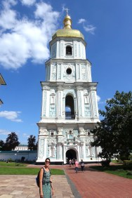 bell tower st sophia cathedral Kyiv