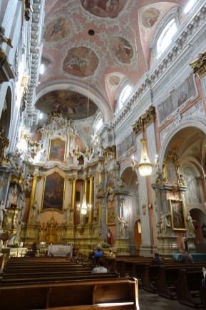 inside st teresa church
