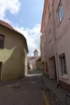 narrow streets vilnius old town