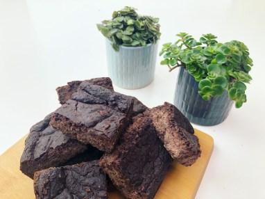 vegan chocolate fudge brownies
