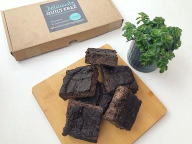 vegan fudge brownies