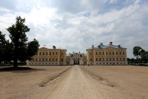 Rundale Palace entrance