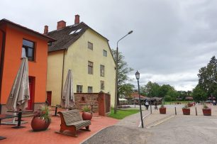 Old Town square cesis