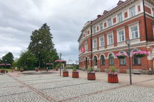 cesis town square
