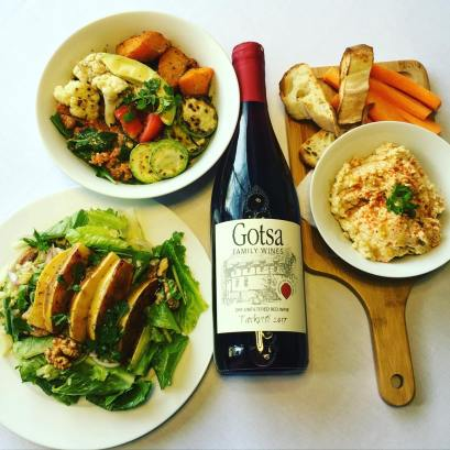 Living Vino Vegan Food