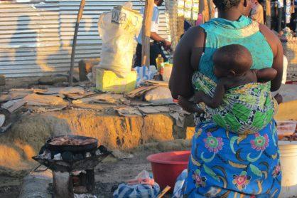 Angola street food