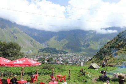 Kazbegi camping