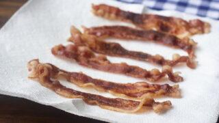 microwave bacon