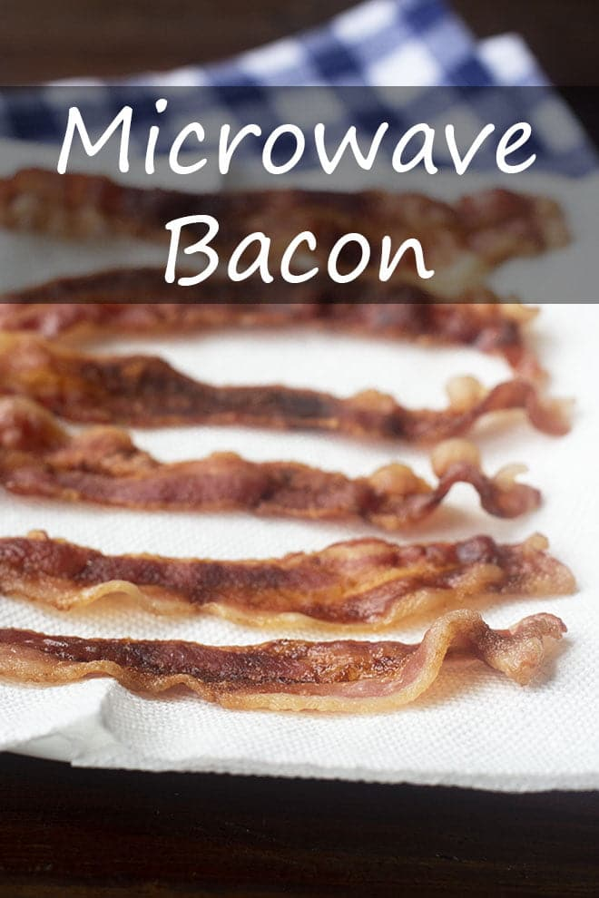 microwave bacon cook the story