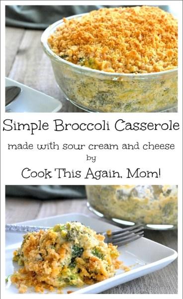Simple Broccoli Casserole