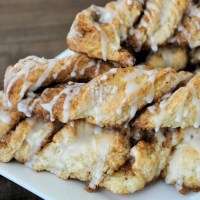 No Yeast Cinnamon Twists