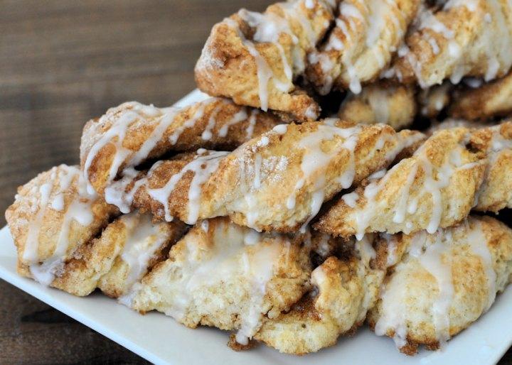 No Yeast Cinnamon Twists