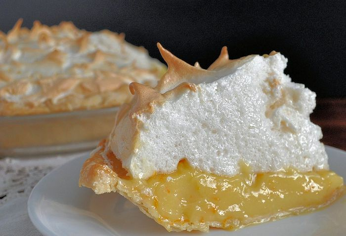 Orange Cream Meringue Pie