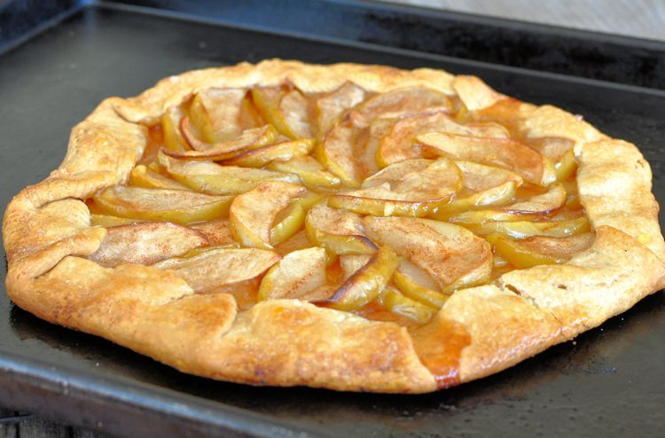 Super Simple Apple Galette